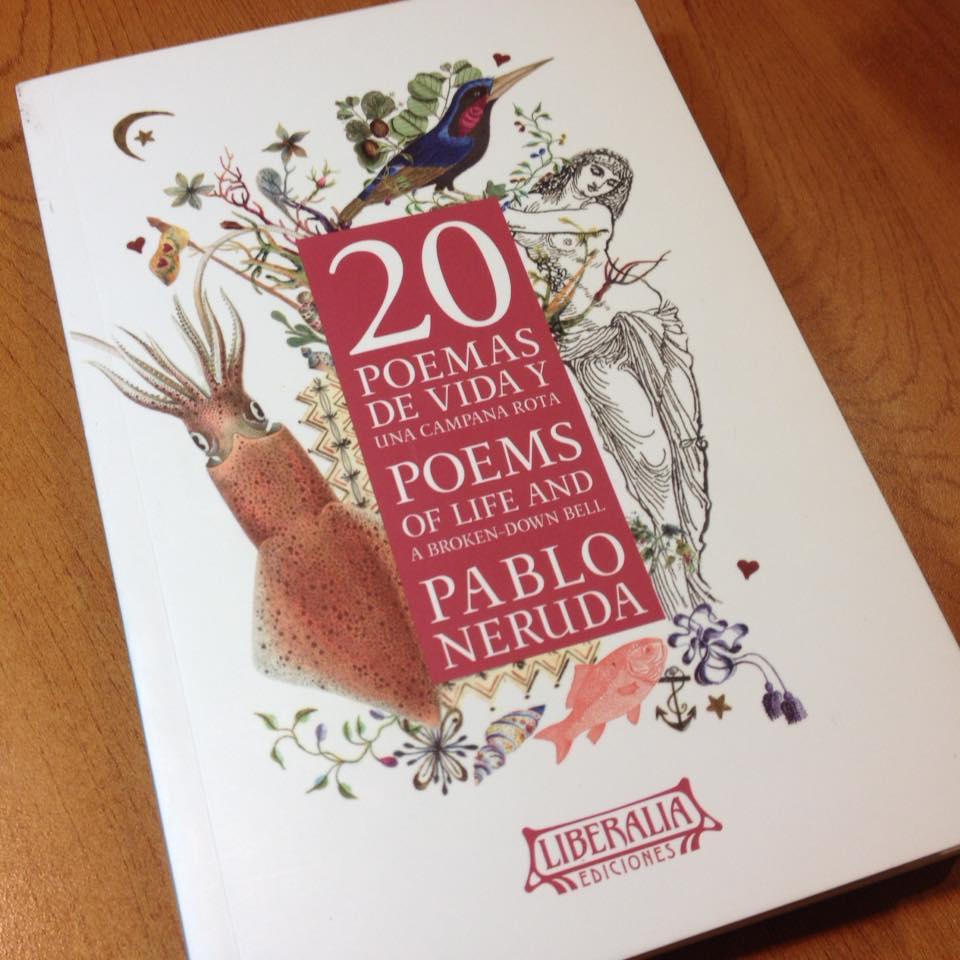 20 poemas de vida y una campana rota. Ilustrado y bilingue