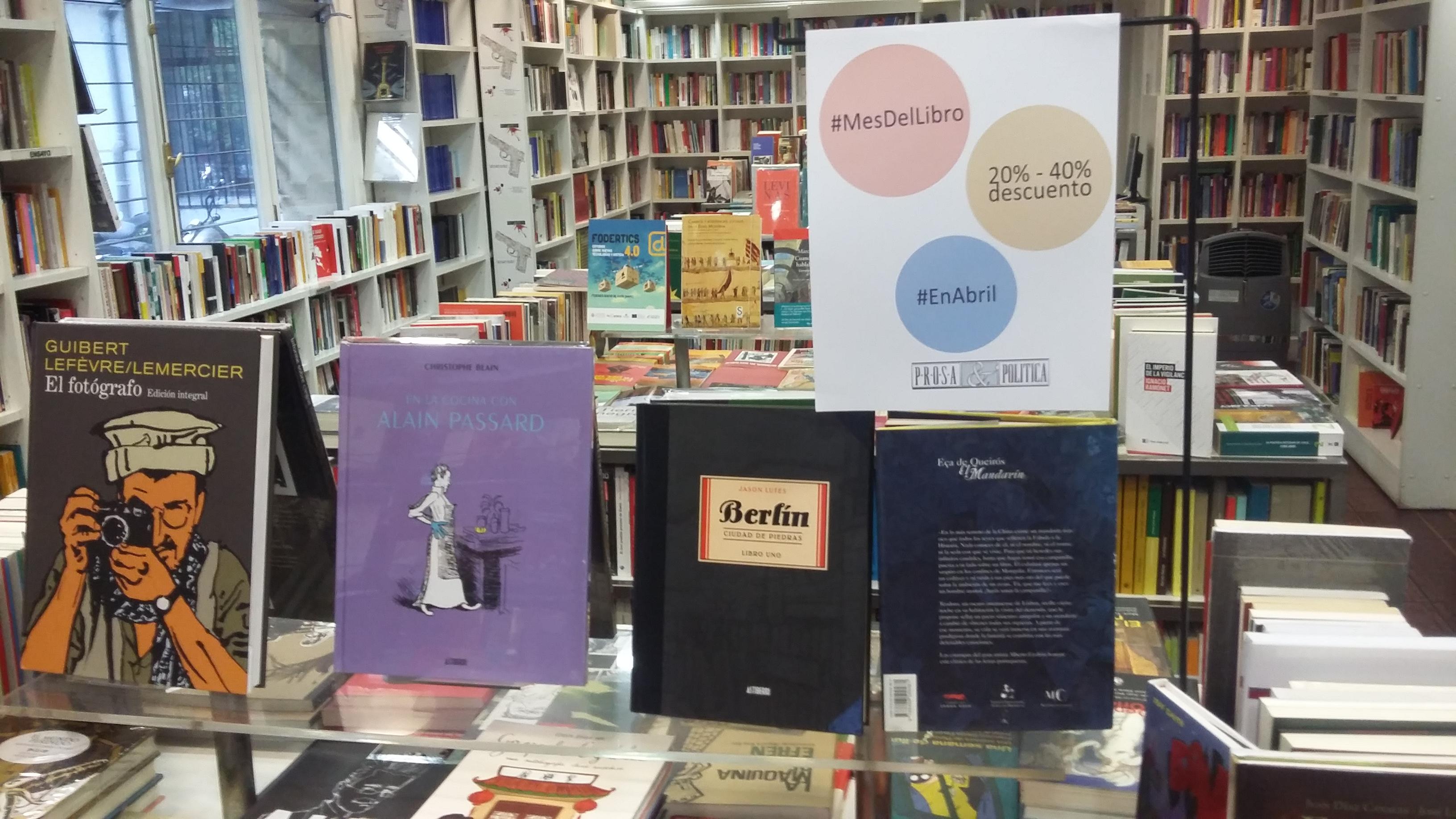 Semana del Cómic y Novela Gráfica en Prosa & Política