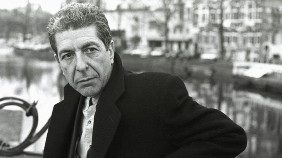 Las palabras de Leonard Cohen.