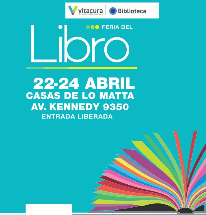 Liberalia Ediciones en la Feria del Libro de Vitacura.