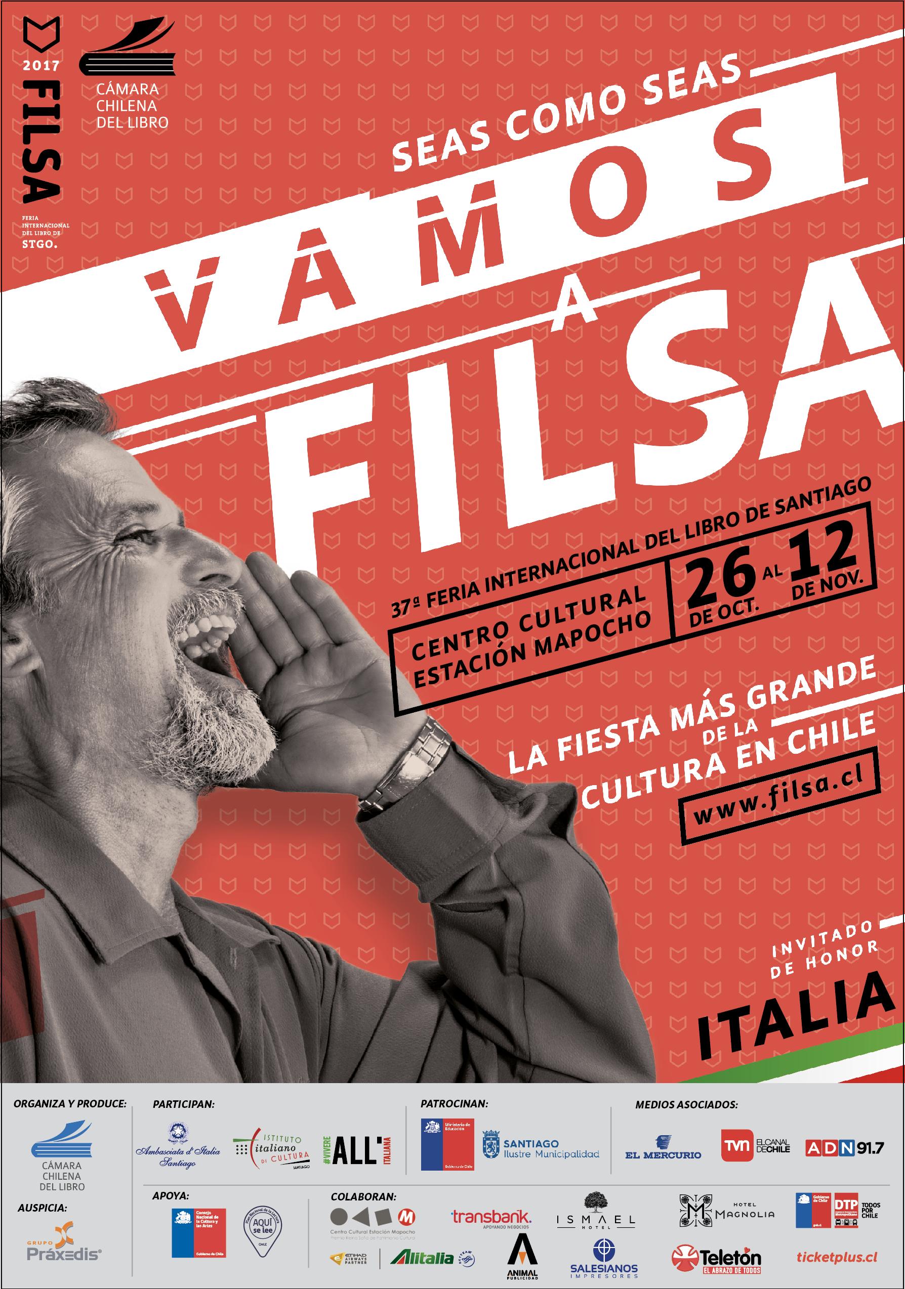 FILSA 2017- Invitado de honor, Italia