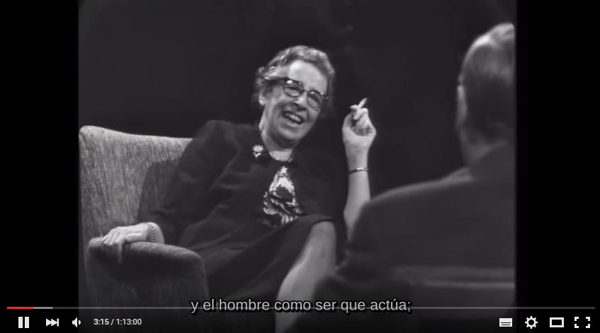 Recordamos a Hannah Arendt