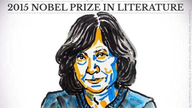 La bielorrusa Svetlana Alexievich, premio Nobel de Literatura