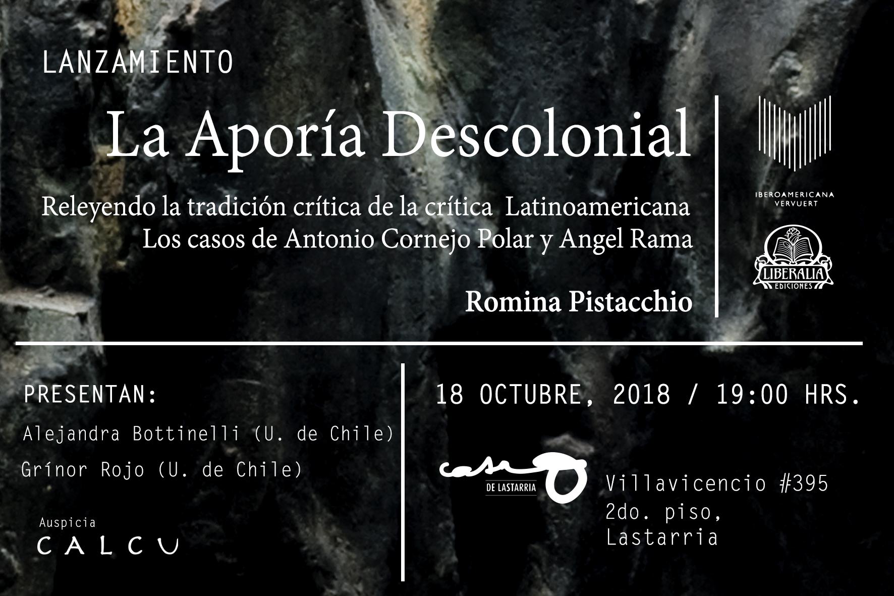 Presentación de la Aporía Descolonial