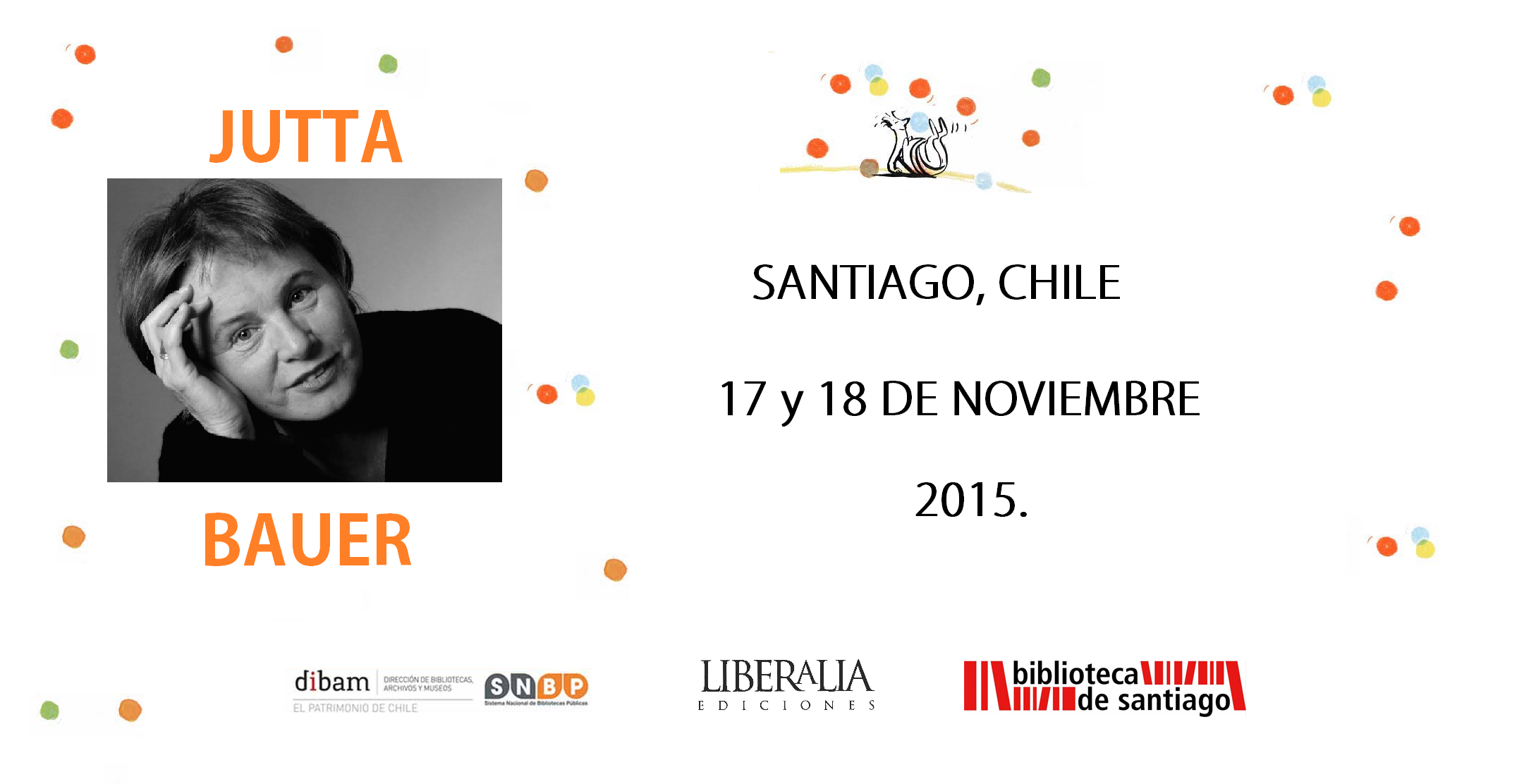 Agenda Jutta Bauer en Chile