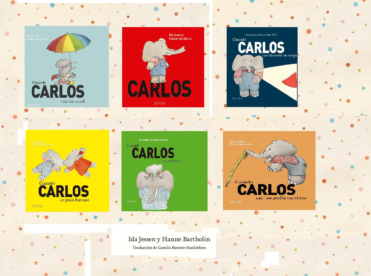 CARLOS. Novedad catálogo infantil Liberalia Ediciones.