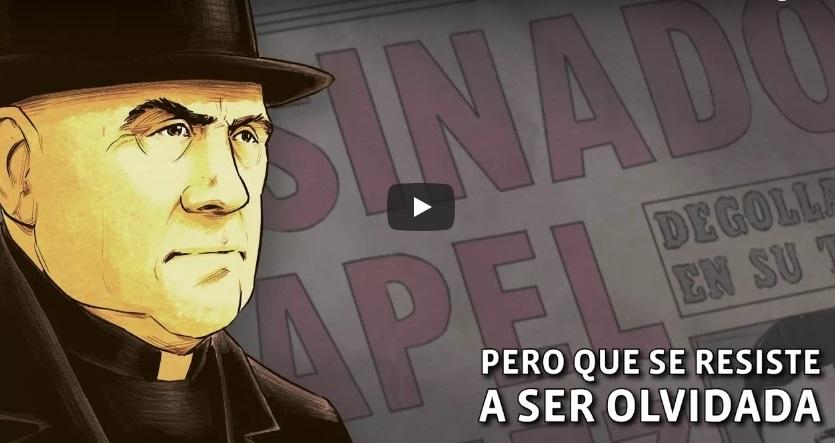 Mira el book trailer de El Cardenal, novela gráfica