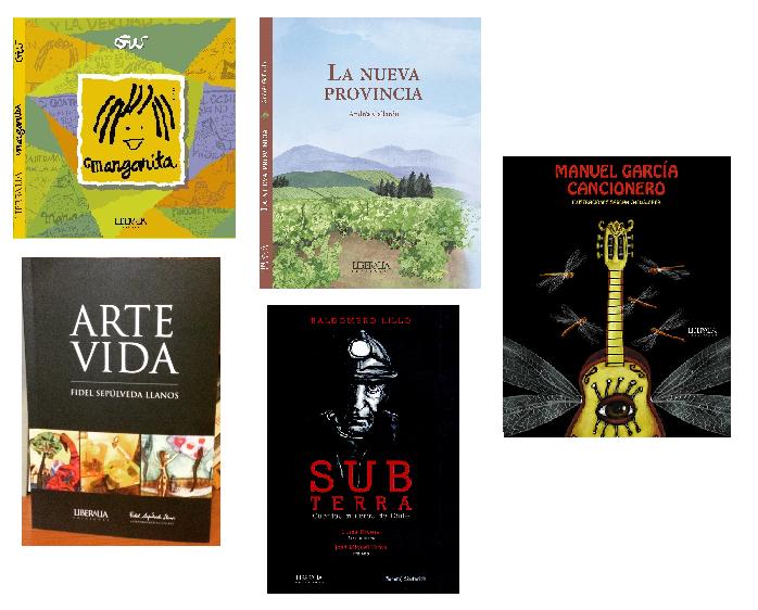 Autores y títulos nacionales, catálogo Liberalia Ediciones.