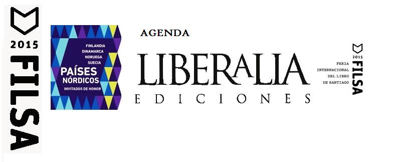 Agenda Liberalia Ediciones en FILSA 2015