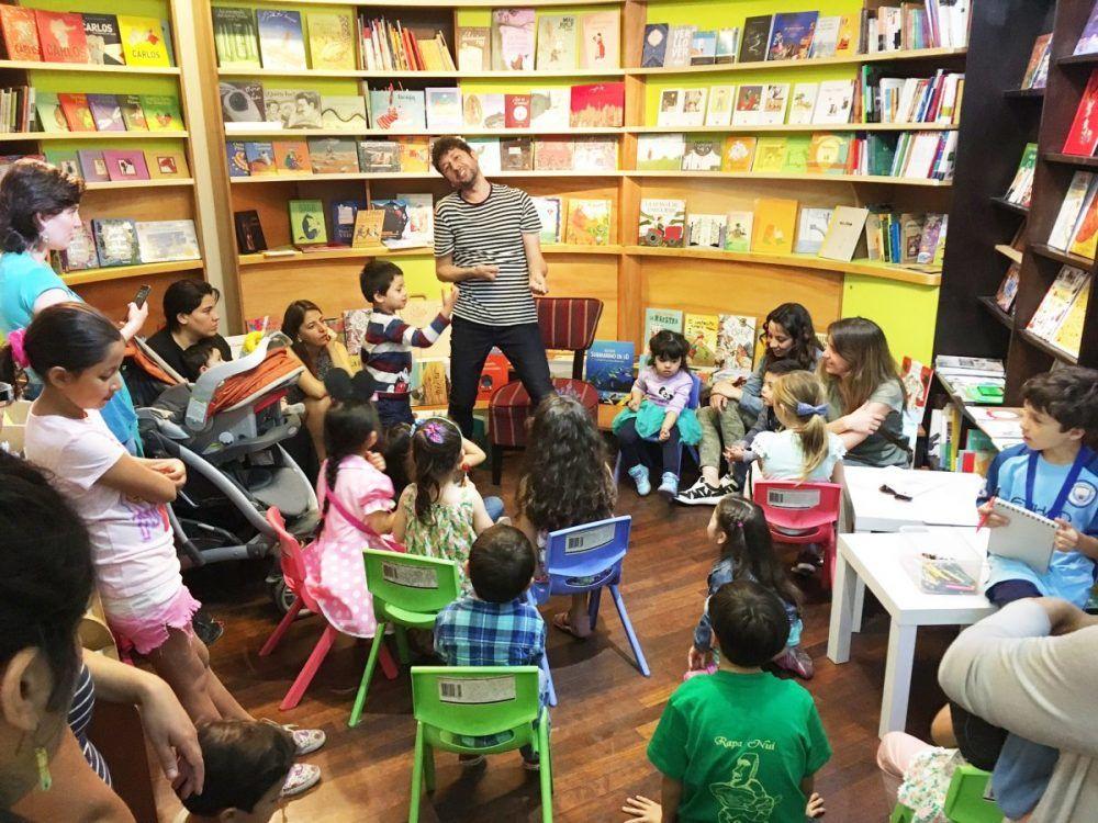 ¡Derechos de los niños a escuchar cuentos!