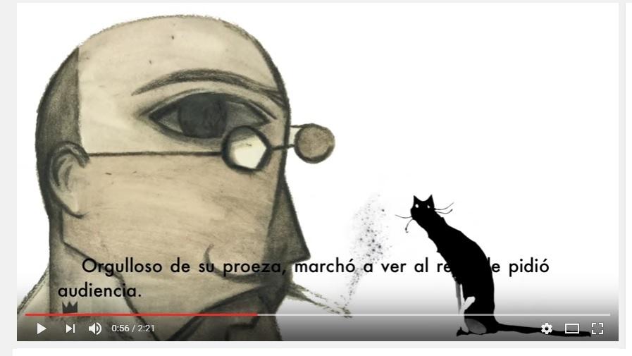 El gato con botas- edición ilustrada y bilingüe