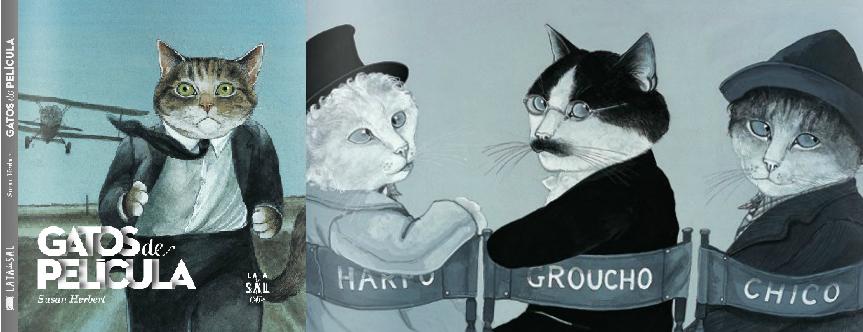 Gatos de película. Editorial Lata de Sal
