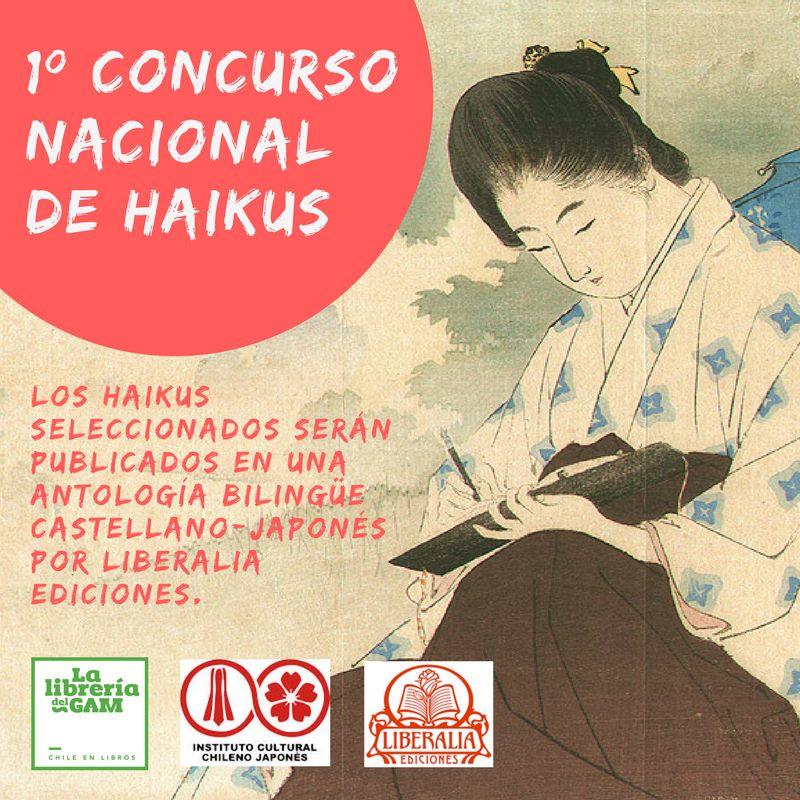 Conoce los ganadores del Primer Concurso Nacional de Haikus
