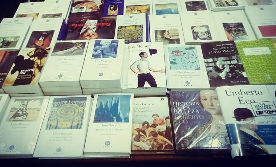 Continúa Muestra de Letras Italianas en Librería del GAM