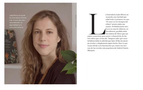 Luisa Rivera: el encanto por ilustrar historias