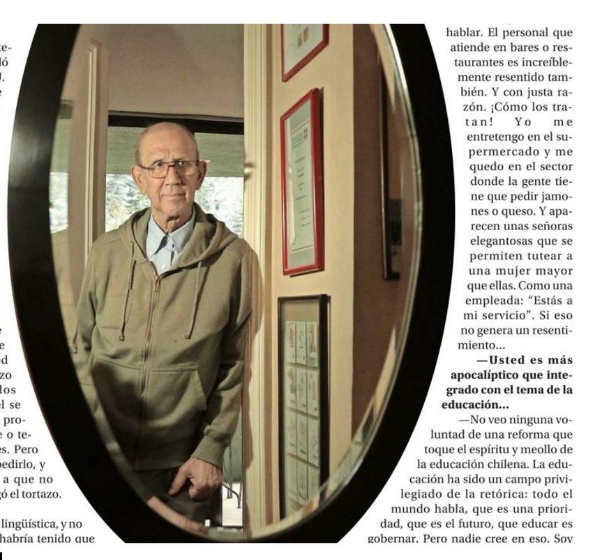 Andrés Gallardo : Me gustaría ser recordado como un escritor que hizo un par de novelitas.