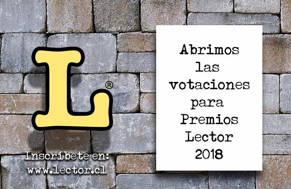 El Cardenal nominada para Premios Lector 2018.