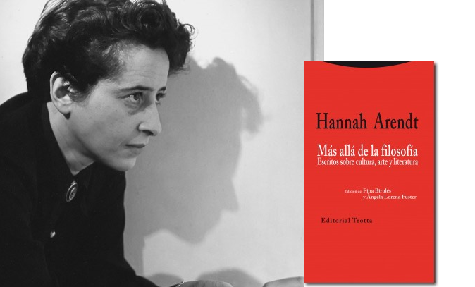 Hannah Arendt, Más allá de la filosofía.