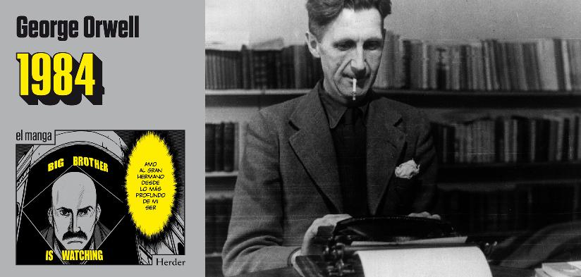 1984, el clásico de George Orwell llega en su versión Manga