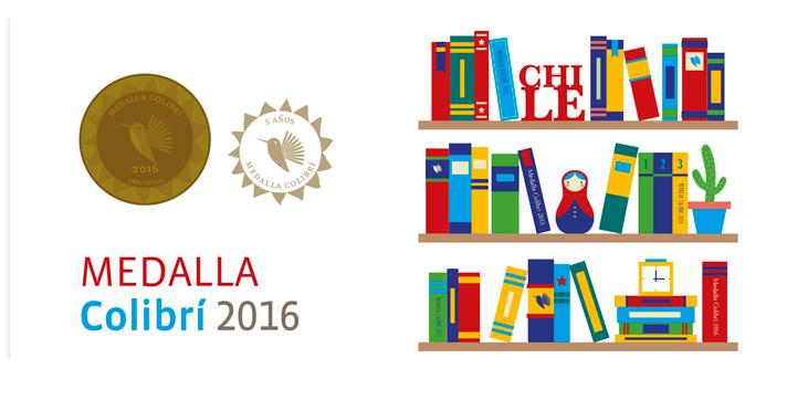 Liberalia Ediciones recibe Medalla Colibrí 2016, Categoría Mejor Labor Editorial
