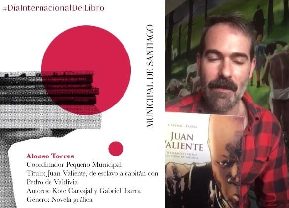 Día del libro recomendados: Juan Valiente