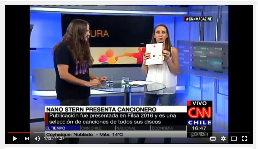 Entrevista a Nano Stern en CNN
