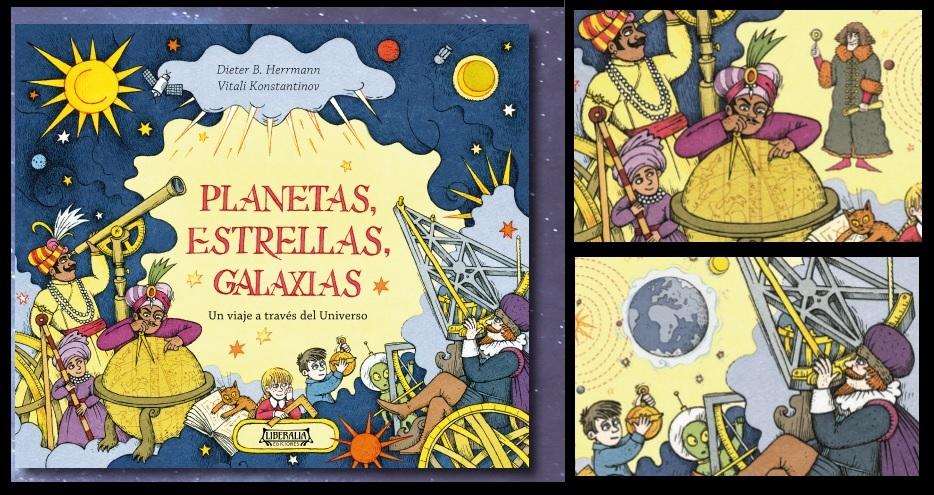 Novedad Editorial Infantil: Planetas, Estrellas, Galaxias
