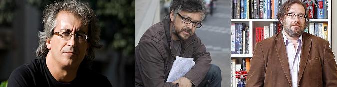 David Roas conversa con Jorge Baradit y Francisco Ortega
