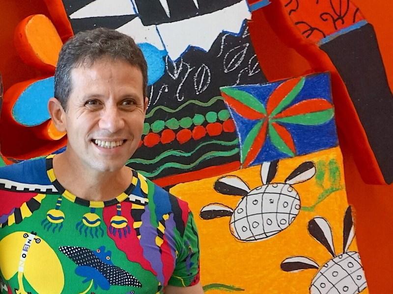 Roger Mello por primera vez en Chile