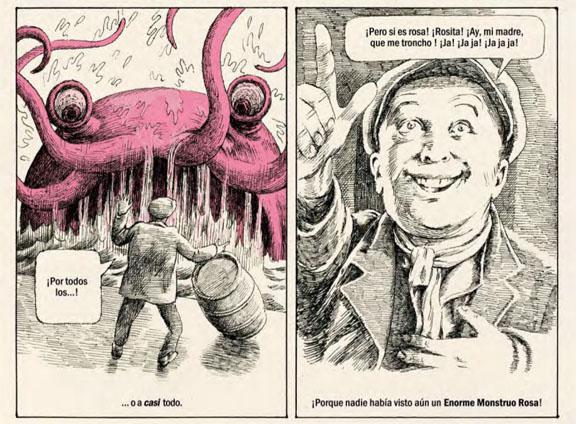 Extraños. Un cómic de Javier Sáez Castán
