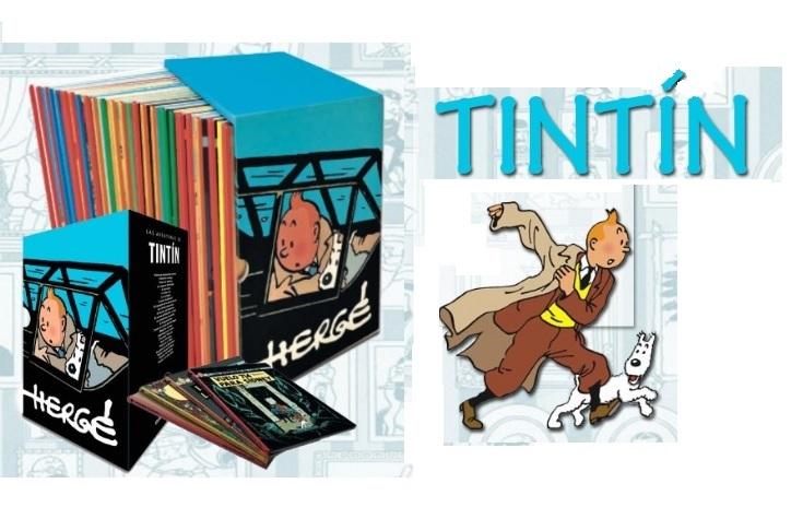 Los 90 años de Tintín