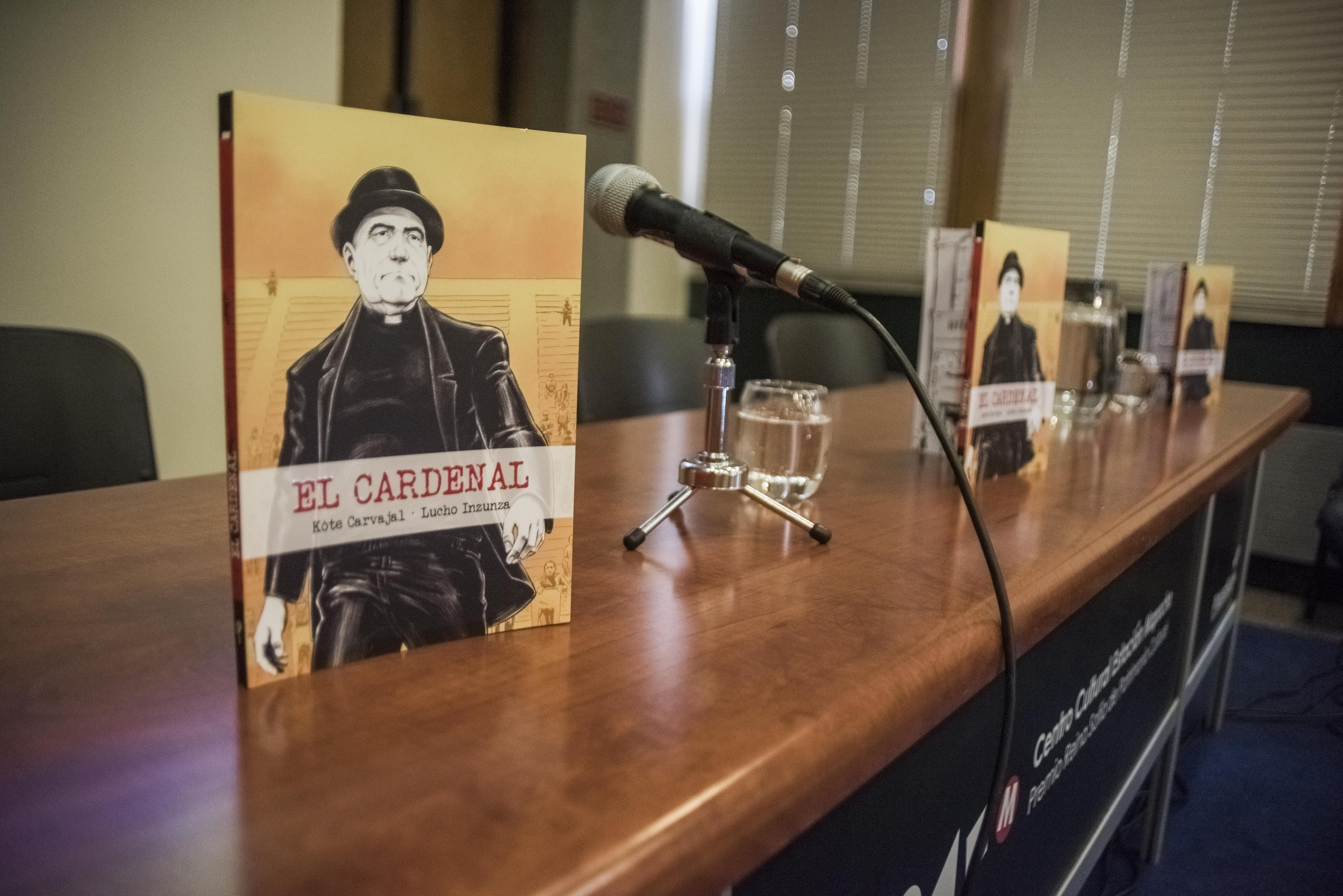 Novela gráfica El Cardenal será presentada en Viña del Mar