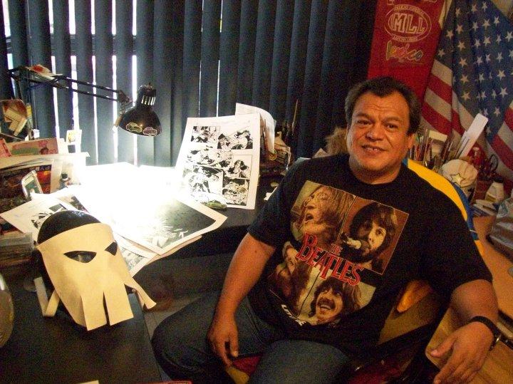 El dibujante mexicano Hugo Aramburo en Prosa & Política