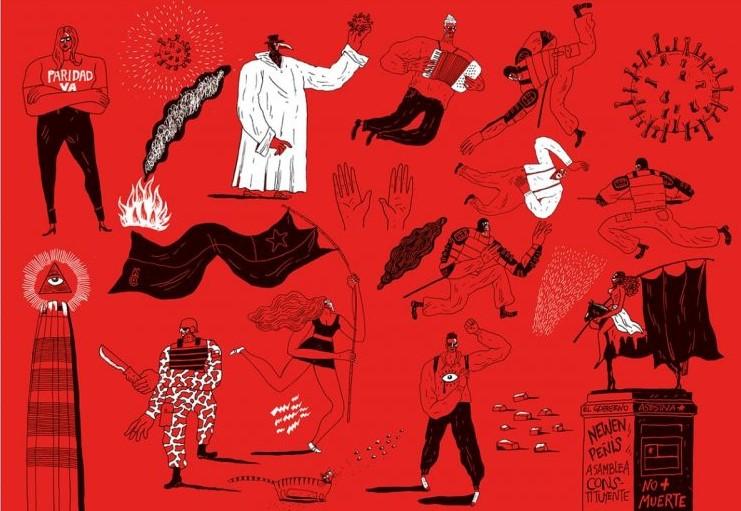 Décimas del estallido : crónica en verso de la rebelión chilena