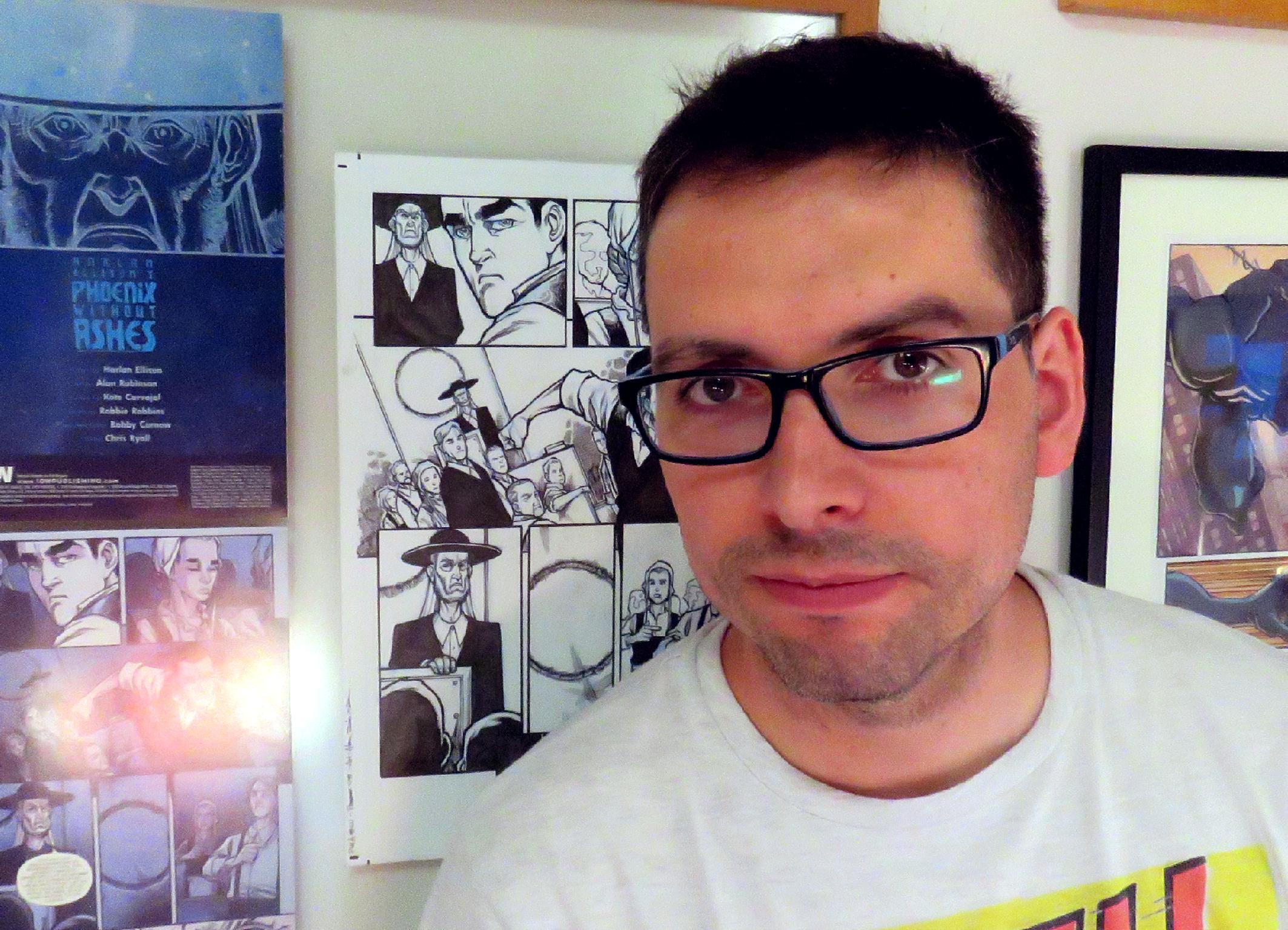 Entrevista a Kóte Carvajal (autor de El Cardenal)