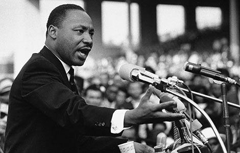 Un sueño de Igualdad. Martin Luther King