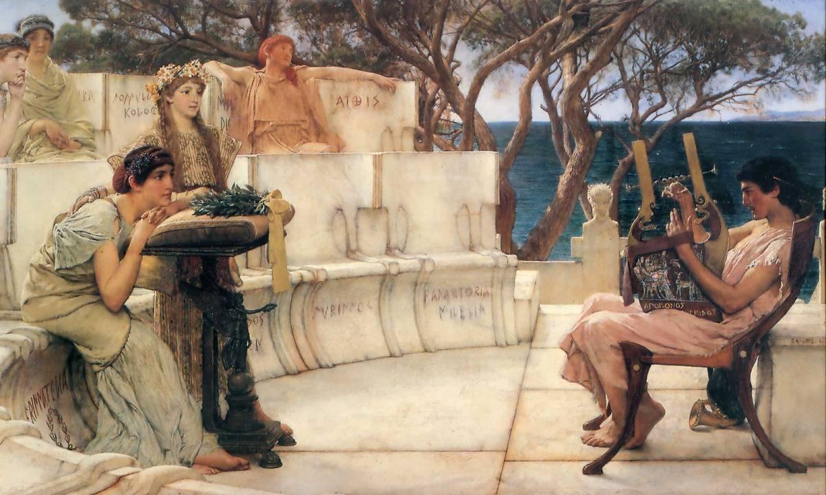 Grecia  Hispanoamérica. Diálogo poético