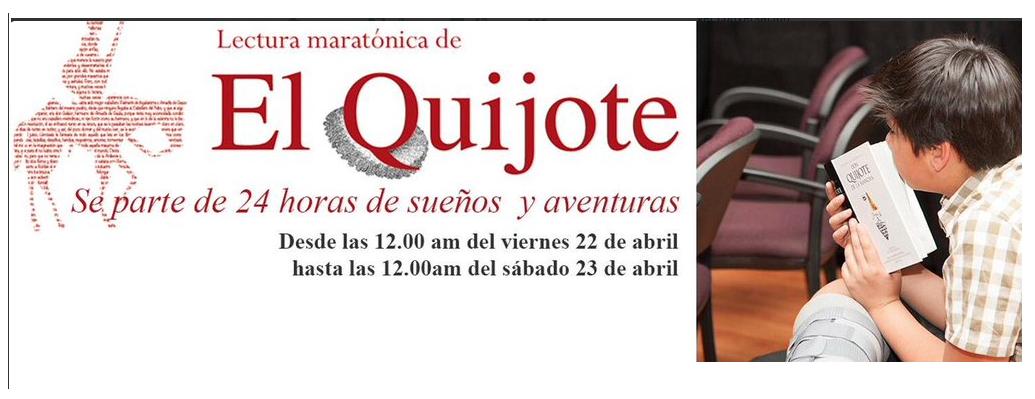 Lectura maratónica en el año de Cervantes: Quijote 24